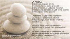 La piedra...   #Coahing #Filosofia #Reflesion