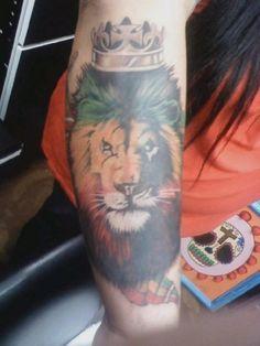 rasta lion tattoo by asmodeo tatouage pinterest rasta lion tatouage lion et lion. Black Bedroom Furniture Sets. Home Design Ideas