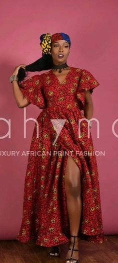 RED Cozy Wrap Dress. Stay Fabulous in this limited edition Wrap dress. African print wrap Maxi dress with side pockets. Butterfly sleeves.   Ankara   Dutch wax   Kente   Kitenge   Dashiki   African print dress   African fashion   African women dresses   African prints   Nigerian style   Ghanaian fashion   Senegal fashion   Kenya fashion   Nigerian fashion   Ankara crop top (affiliate)