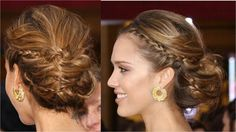 cute braids in casual updo Cute Girls Hairstyles, Bride Hairstyles, Hairstyles Haircuts, Hair Design For Wedding, Wedding Ideas, Hair Wedding, Wedding Attire, Wedding Stuff, Wedding Dresses