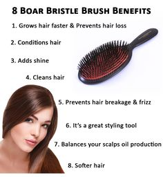Boar Bristle Brush Benefits there's some good tips in the comments