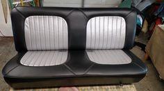 87 Chevy Silverado custom bench seat, amzing work by The FLU Crew!