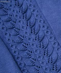 Elegantly Simple Baby Blanket pattern by Jackie Erickson-S Lace Knitting Stitches, Baby Cardigan Knitting Pattern, Lace Knitting Patterns, Cable Knitting, Knitting Charts, Lace Patterns, Easy Knitting, Knitting Designs, Knitting Needles
