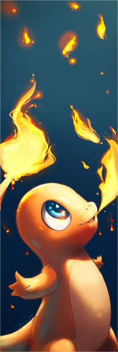This Charmander artwork is awesome!
