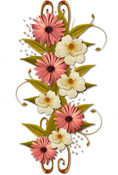Scrapbooking TammyTags -- TT - Designer - Miriam's Scrap,  TT - Item - Element, TT - Style - Cluster, TT - Thing - Flower