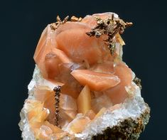 Calcite, Copper Ogonja Mine, Ogonja, Seeis, Windhoek District, Khomas Region, Namibia