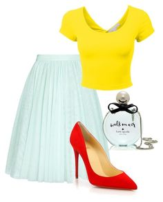 """red shoes"" by basia-kowalska on Polyvore"
