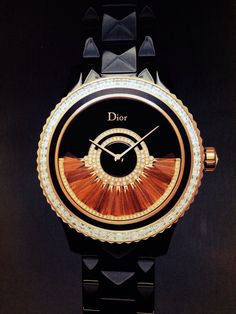 My dream watch. Dior. Only 88 pieces being made, running at nearly $35,000. Sigh.