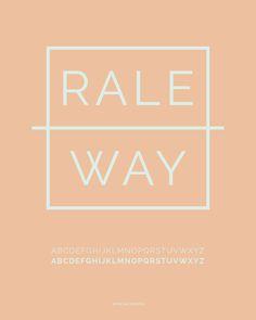 Raleway Google Web Font, typography, graphic design, web fonts, fonts
