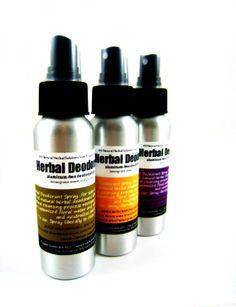 Herbal Deodorant Spray