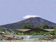 arenal-aguas termales de Tabacon-Costa Rica