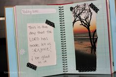 i made a book :: scripture scraps: carissa graham-scripture smash book for your child
