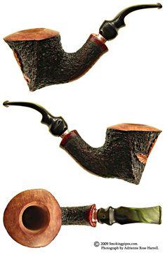"Italian Estates Tobacco Pipes: Ardor Urano ""Christmas 2005"" (25) (DR) (Unsmoked)"