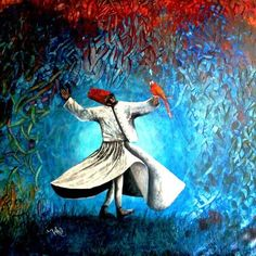 I want to sing like the birds sing,  not worrying who listens or what they think.  ~ Rumi art: Zahid Iqbal