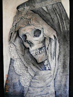 Tattoo Virgen  Por LionCastleTattoo