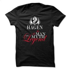 HAGEN, the man, the myth, the legend - #hoodie ideas #red hoodie. I WANT THIS => https://www.sunfrog.com/Names/HAGEN-the-man-the-myth-the-legend-vqflfujauk.html?68278