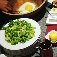 Have you ever had a Caesar Salad prepared table side.  Royal Grille Restaurant