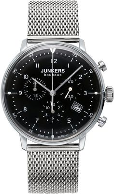 Junkers Watch Bauhaus #2015-2016-sale #bezel-fixed #black-friday-special #bracelet-strap-steel #brand-junkers #case-depth-10mm #case-material-steel #case-width-40mm #chronograph-yes #classic #date-yes #delivery-timescale-1-2-weeks #dial-colour-black #gender-mens #movement-quartz-battery #official-stockist-for-junkers-watches #packaging-junkers-watch-packaging #sale-item-yes #style-dress #subcat-bauhaus #supplier-model-no-6086m-2 #vip-exclusive #warranty-junkers-official-2-year-guarantee…