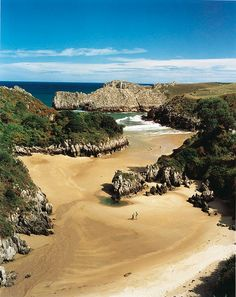 Playa de Berellín #Cantabria #Spain #Travel