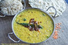 Curry and Comfort: Spicy Lentil Curry (Sri Lankan Tempered Dhal)