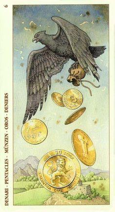 Tarot of Durer (diabeł brzydki)