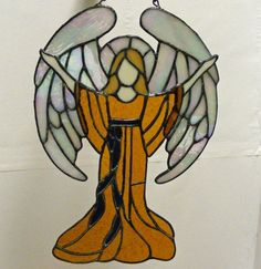 Stained Glass Angel - Praise
