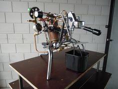 Frankenstein coffee machine