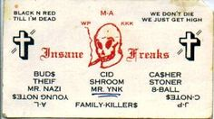 The 28 best gang design images on pinterest name cards business vintage everyday chicago gang calling cards from the and reheart Image collections