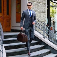 Mens Fashion & Suits @suitsharks - Confidence breeds success...Yooying
