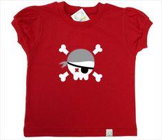 Camiseta Infantil preta, vermelha ou branca, manga curta, malha 100% algodão. Silk e aplicação em feltro.    Tamanhos: 2, 3, 4, 6 e 8 anos.    Favor informar no momento da compra se é MANGA FOFA ou MANGA NORMAL, a cor da camiseta, a cor da estampa e o tamanho desejado.    Obs:  Camiseta preta - E...