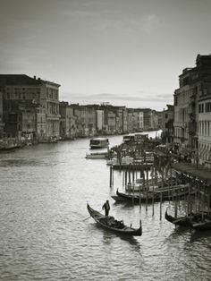 Grand Canal from the Rialto, Venice, Italy Photographic Print by Jon Arnold at AllPosters.com