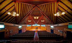 Vista panoràmica de la sala de l'Auditori Pau Casals