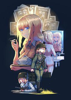 Manga Anime, Old Anime, Fanarts Anime, Anime Demon, Manga Girl, Anime Characters, Pretty Anime Girl, Cool Anime Girl, Anime Art Girl