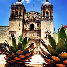 Santo Domingo Church, Oaxaca City, Oaxaca. Mexico