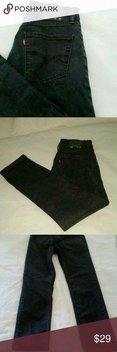 63d77f54510 Levi's 511 Slim Fit Stretch Black Jeans Dark Wash MSRP: $59.50 - Men's  Levi's 511