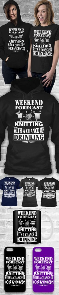 Knitting Forecast Shirts! Click The Image To Buy It Now or Tag Someone You Want To Buy This For.  #knitting