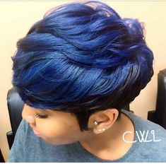 Luna 097 Philadelphia Designer Short Straight Wig with Bangs - Blue Girl Short Hair, Short Hair Cuts, Short Pixie, Pixie Cuts, Straight Hairstyles, Girl Hairstyles, Black Hairstyles, Scene Hairstyles, Pageant Hairstyles