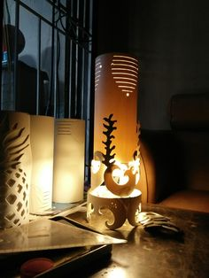 Cap lamp art