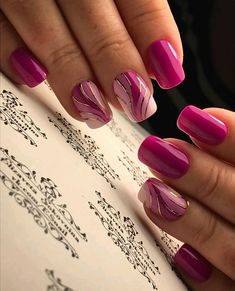 latest and hottest matte nail art designs ideas 2019 – nothingideas Shellac Nails, Matte Nails, My Nails, Acrylic Nails, Cute Nail Designs, Acrylic Nail Designs, Stylish Nails, Trendy Nails, Latest Nail Art