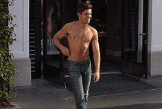 Zac Efron Shirtless Movie GIFs | POPSUGAR Entertainment