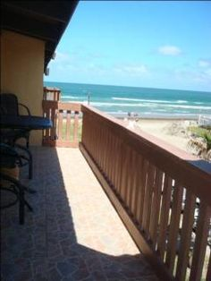 Beach Front Condo in South Padre Island - looks promising