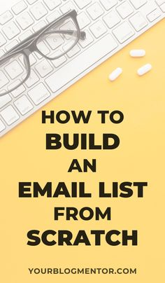 Learn why a responsive email list is necessary for your business and how to build one easily using the best tools and resources available. Email Marketing Strategy, Media Marketing, Content Marketing, Digital Marketing, Mobile Marketing, Inbound Marketing, Business Marketing, Affiliate Marketing, Interactive Marketing