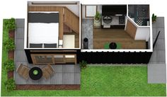 Create floor plans, home and office designs online with RoomSketcher Home Designer. Get started, risk-free. Create Floor Plan, Shipping Container Homes, Can Design, Tiny Living, Design Trends, Tiny House, Create Your Own, Shed, Floor Plans