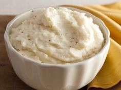 Creamy Garlic Mashed Potatoes from FoodNetwork.com