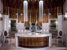 Best New Luxury Kitchen Designs 2013 with Chandelier