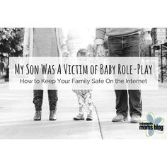 We are talking about the very disturbing world of baby role-play and how you can keep your children safe on the Internet on the blog today (link in profile). #indymomsblog #internetsafety #socialmedia #parenting #children #technology #kids