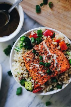 I'm sure you already know salmon is really good for you! That's not really new news, but if you are like us, while you know salmon is good for you, you might sometimes feel like you nee…