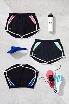 Under Armour Fly-By Running Shorts. Built to break records.   Look, feel and perform better than ever. Made with a super-lightweight fabric, these running shorts will keep you cool, dry, light and focused through every stride.