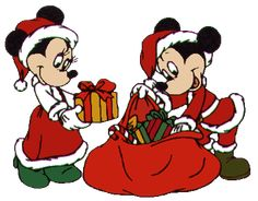 Disney christmas Graphics and Animated Gifs Natal Do Mickey Mouse, Mickey Mouse Christmas, Mickey Minnie Mouse, Disney Christmas, Christmas Scenes, Christmas Door, Christmas Baby, Christmas Graphics, Christmas Clipart