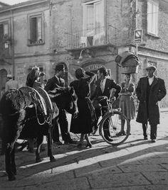 Vibo Valentia Italy 1950s  Photo: Fosco Maraini